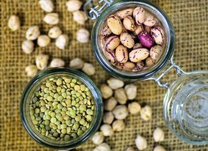 beans, legumes