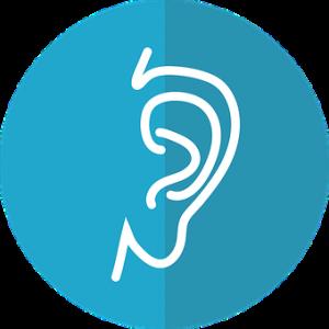 ear, hearing, listening