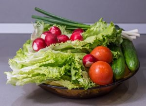 salad with romaine lettuce